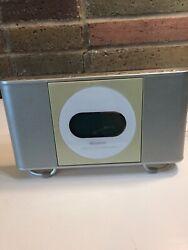 Memorex Clock Digital Radio with CD Front Load Player ~ Model : MC7101