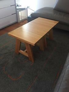 Solid Timber Coffee Table Murarrie Brisbane South East Preview