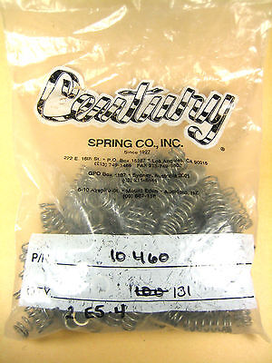 Century Spring Co 10460 Compression Spring Lot Of 131
