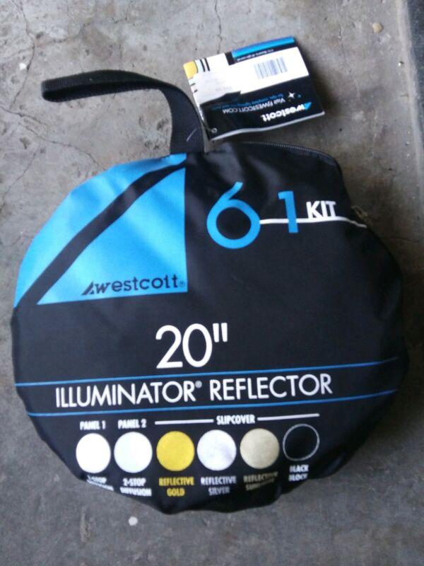 """Westcott Illuminator Reflector 6-in-1 Kit 20"""""""