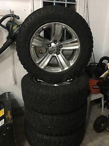 2016 Dodge Ram Sport Rims and Goodyear Duratracs LT275 65 20