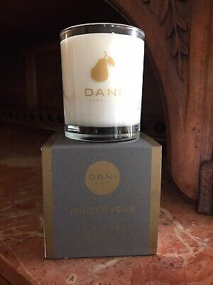 DANI Naturals Winter Pear Candle 60 Hr Burn Time 100% Soy 100 Hr Soy Candle