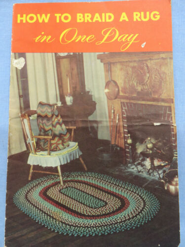 How to Braid a Rug in One Day Booklet 1949