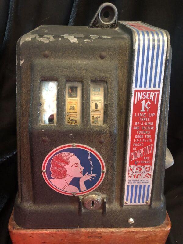 Vintage Arte Deco Advertising Trade Stimulator