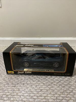 Maisto Special Edition 1:18 Mclaren F1 (1993) Metal Die Cast Car MIB