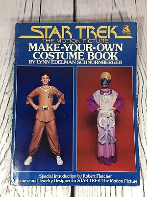 1979 Star Trek TMP Make Your Own Costume Book - 118 Pages - Soft Cover
