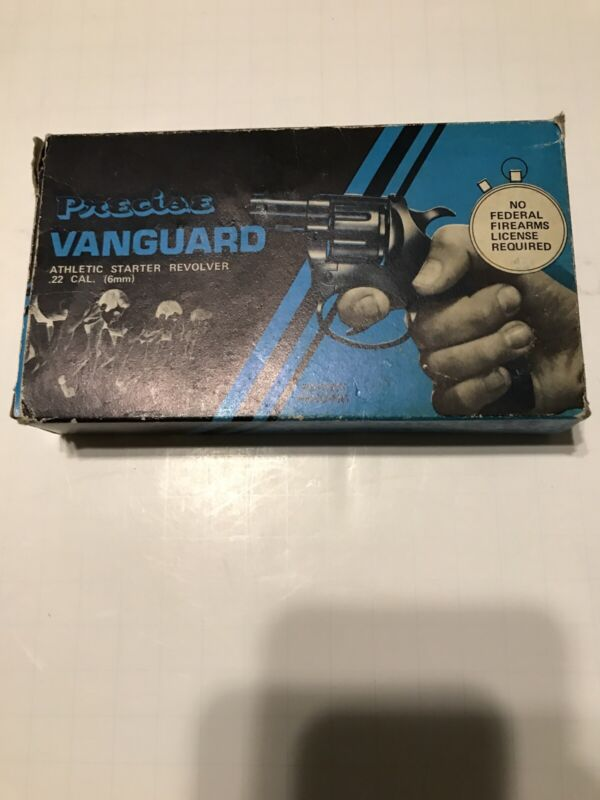 Vintage Precise Vanguard Starter Signal Blank Cap Made In Italy With Box