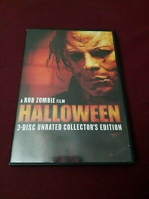 Halloween (Three-Disc Unrated Collector's Edition) DVD - Halloween Three