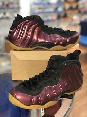 d8988e17f9dd2 Nike Air Foamposite One Night Maroon   Black 314996 601 Sz 10 for sale  Laurel