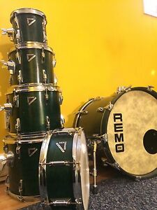 Remo Mastertouch 6 piece drum set