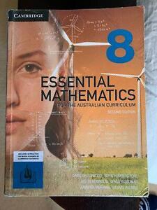 Cambridge AC Essential Maths Year 8