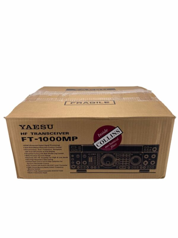 Yaesu FT-1000MP HF Transceiever w/ MH-31B8 Mic Shipping / Retail Boxes & Manual
