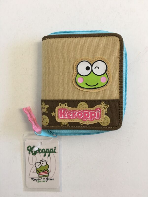 New Sanrio Keroppi Zipper Wallet