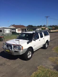Nissan Navara d22 2.5 2008 4x4 $14,000 ono