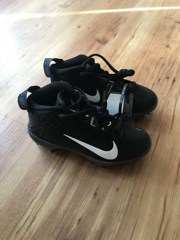 NIKE KIDS FORCE TROUT 5 PRO MCS BASEBALL CLEATS BLACK AH3379-010 YOUTH