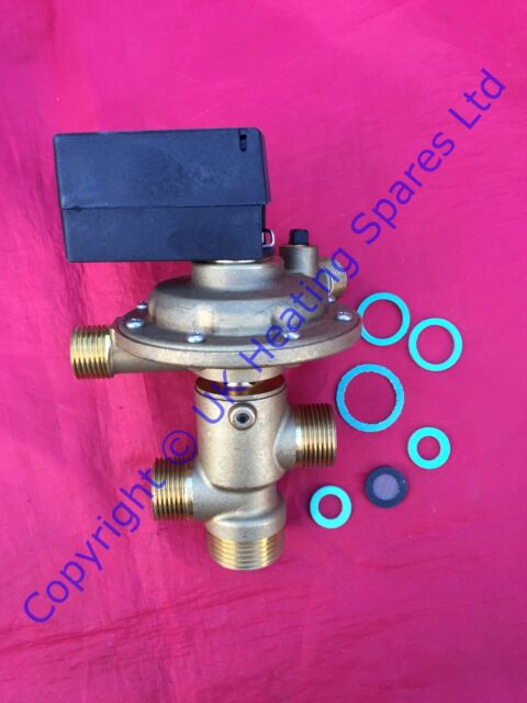 Ideal Sprint RS75 & 80F Boiler Diverter Valve & Microswitch 078331 RS75P 80FP