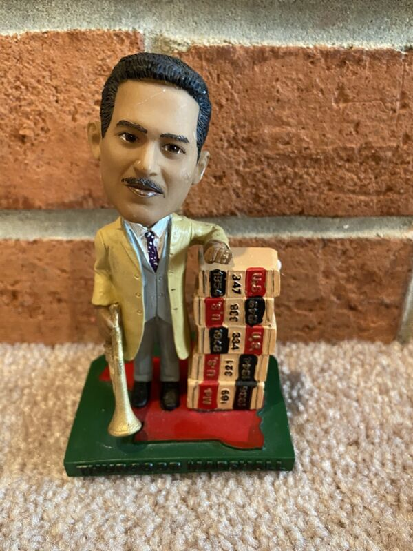 Thurgood Marshall Bobblehead Green Bag Supreme Court Justice - brand new in box