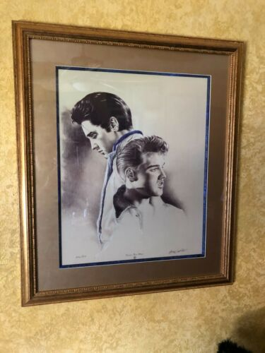 Elvis the Man - Betty Harper signed print