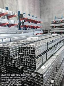 GALVANISED STEEL TUBE 40MM*40MM*1.7MM AS FENCE POST, FARBRICATION Smithfield Parramatta Area Preview