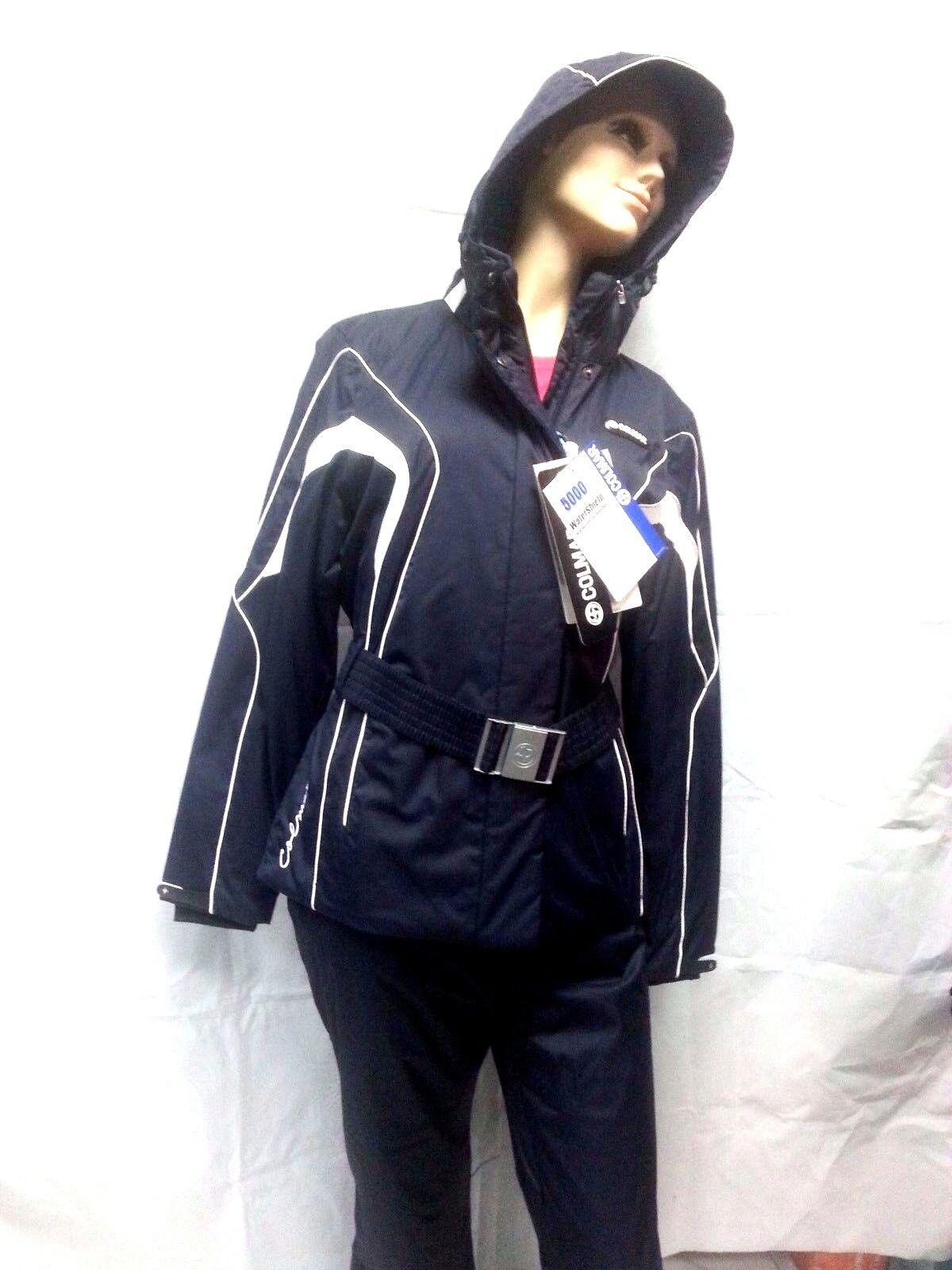 completo sci donna colmar tuta neve giacca e pantalone 2065s jewel blu/bianco
