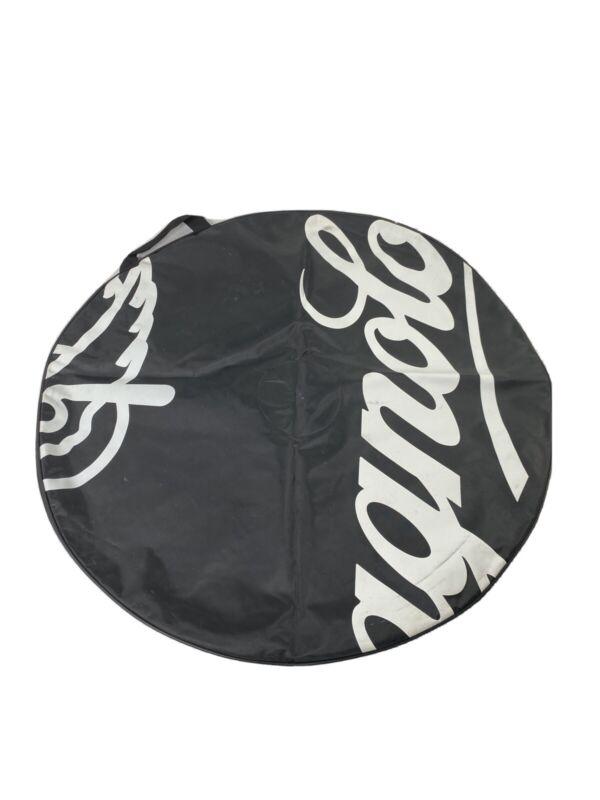 Black Campagnolo Travel Wheel Bag With Inside Pocket.