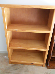 Pine Timber Bookcase East Toowoomba Toowoomba City Preview