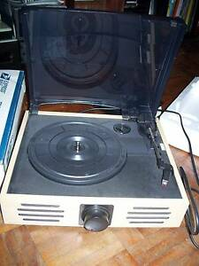 Record Player 3 speed inbuilt speakers Gladesville Ryde Area Preview