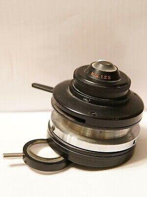 Spencer American Optical Ao N.a. 1.25 Polarizing Microscope Condenser