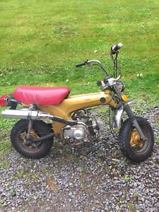 1974 Honda CT70 dirt bike