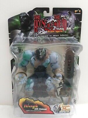 The House of the Dead Strength with Chainsaw Action Figure Series 1 2425/5000 Action Figure Chainsaw