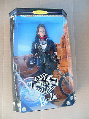 Harley-Davidson #3 Barbie Collectible Collector Doll NIB New