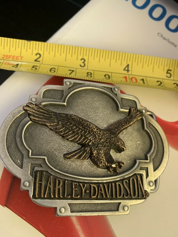 Harley-Davidson 1994 eagle belt buckle Made in USA