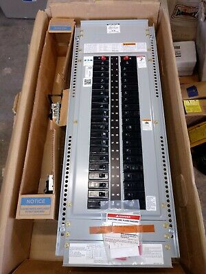 95602 Eaton Cutler-hammer Panel Breaker Box Prl1a Ezb2042r With Breakers