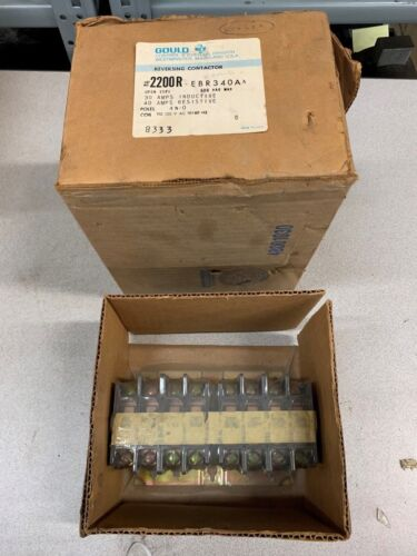NEW IN BOX GOULD CONTACTOR 2200R-EBR340A