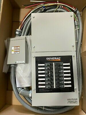 Generac Automatic Transfer Switch 14-circuit 100-amp Load Center Rtg14eza1