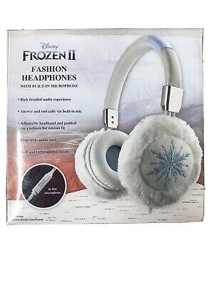 eKids Disney Frozen 2 Over The Ear Fashion Headphones New Damaged Packaging