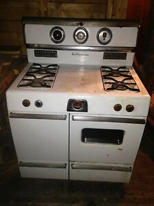 Vintage propane stove