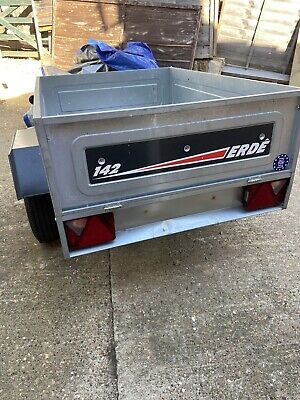 used car trailer 4 X 3