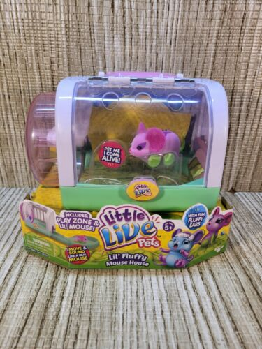 Little Live Pets Lil Mouse House Play Zone Flitter Mouse