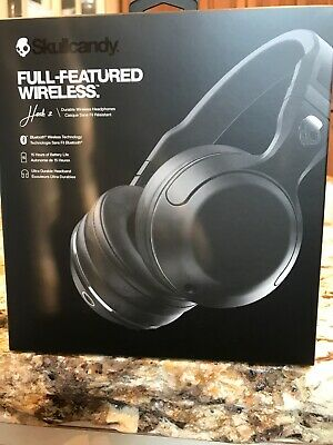 Skullcandy Hesh 2 Wireless  Black Headphones - NIP S6HBGY-374