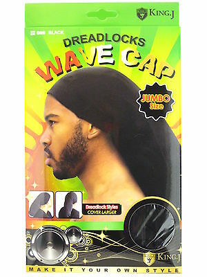 KING.J MARLEY STYLE JUMBO SIZE WAVE CAP HAT FOR DREADLOCKS (085 & 086) - Hat For Dreadlocks