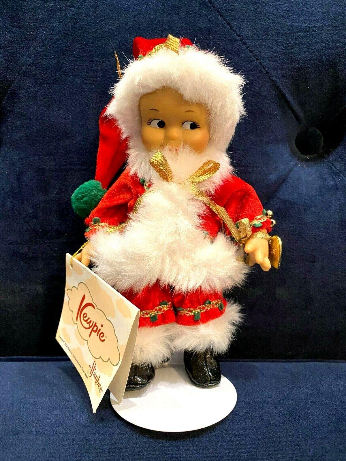Effanbee - 8 Santa Kewpie Doll - Stand Charm - V3008 - Has Tags But No Box  - $14.99