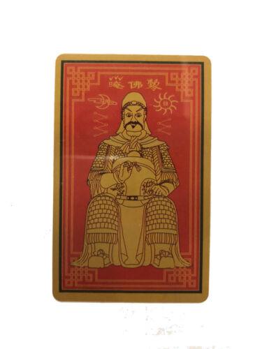 FENG SHUI TAI SUI CARD AMULET GRAND DUKE USA SELLER