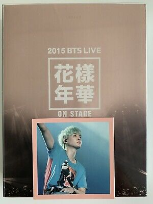 BTS 2015 HYYH LIVE In the Mood of Love ON STAGE DVD Set with SUGA Photo Card