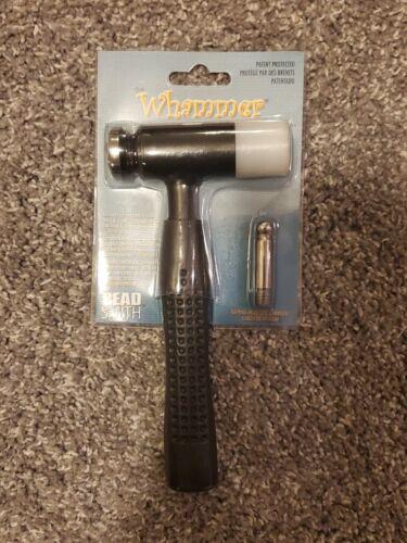 BeadSmith Whammer Interchangeable Nylon Head Dapping Head Hammer
