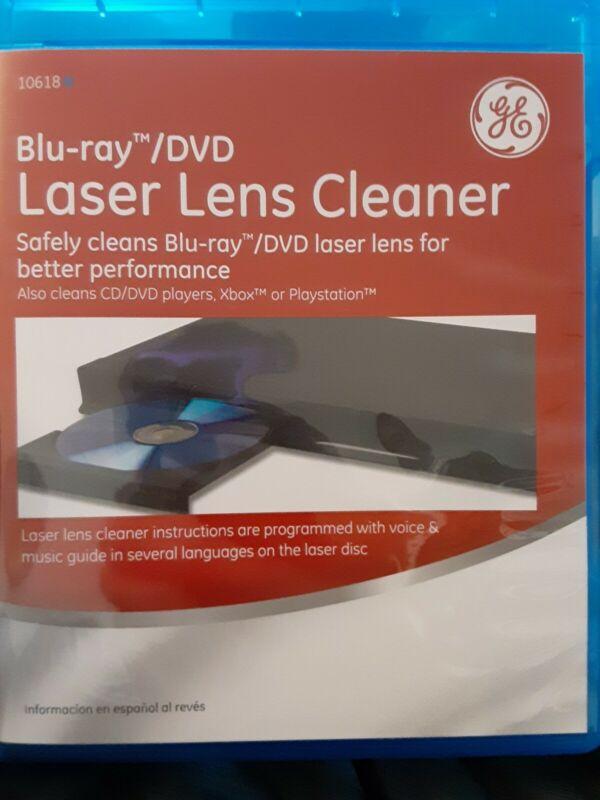 Pre-owned ~ Blu-Ray/DVD Laser Lens Cleaner (GE)
