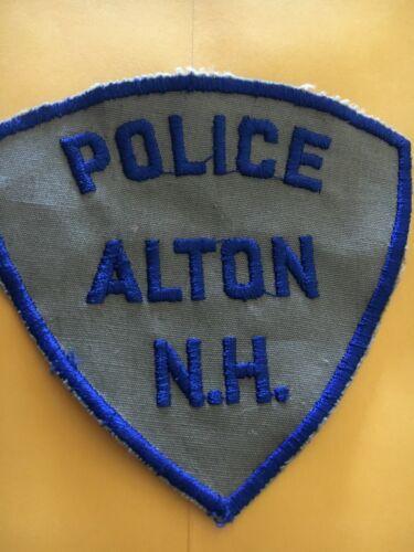 Alton New Hampshire Vintage Police Patch version 2