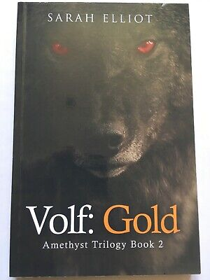 VOLF: GOLD - AMETHYST TRILOGY BOOK 2 - SIGNED BY AUTHOR for sale  Shipping to South Africa