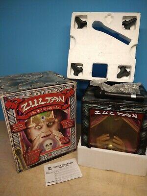 "Large 18"" ZULTAN FORTUNE TELLER Halloween Display Animated Motifigure Open Box"