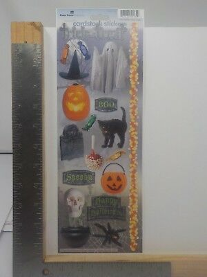 A Halloween Treat (PAPER HOUSE STICKYPIX HALLOWEEN TRICK OR TREAT CARDSTOCK STICKERS NEW)